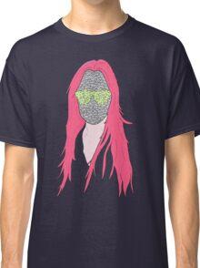 mistery mask girl Classic T-Shirt