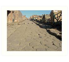 Pompeya .....Italia. Art Print