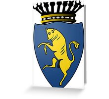 Coat of Arms of Turin  Greeting Card
