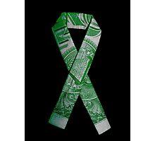 National Debt/Defecit Awareness Ribbon Photographic Print