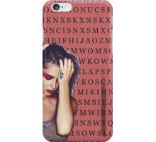 word search \ CHERYL iPhone Case/Skin