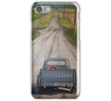 Studebaker Blue iPhone Case/Skin