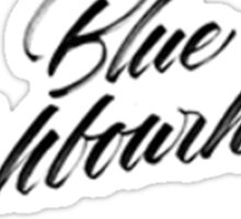Blue Neigbourhood Troye Sivan Sticker