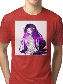 INJURED GIRL Tri-blend T-Shirt