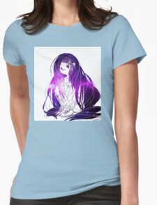INJURED GIRL Womens Fitted T-Shirt
