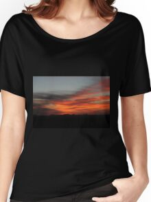 Alberta Sunrise Women's Relaxed Fit T-Shirt