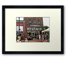 """Burrville Antiques""... prints and products Framed Print"