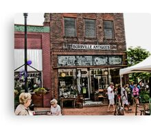 """""""Burrville Antiques""""... prints and products Canvas Print"""