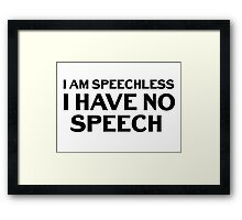 Jerry Senfeld Quotes Framed Print