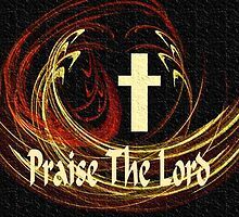 Praise The Lord ~ Throw Pillow by Marie Sharp