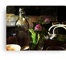 Morning Table Canvas Print