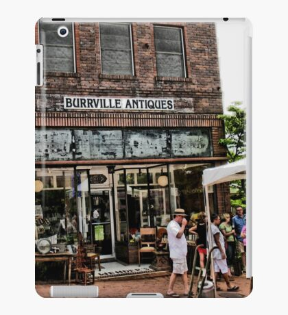 """""""Burrville Antiques""""... prints and products iPad Case/Skin"""