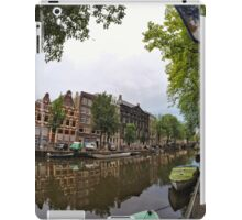 Sightseeing in Amsterdam iPad Case/Skin