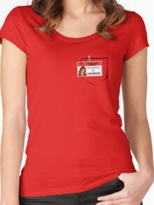 Carla's scrub Women's Fitted Scoop T-Shirt