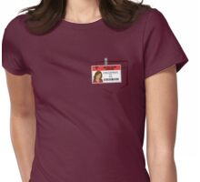 Carla's scrub Womens Fitted T-Shirt