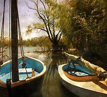 Two Boats by John Rivera