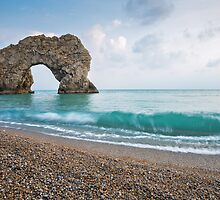 Afternoon at Durdle Door by Ian Middleton