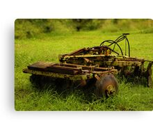 Soil Cultivator Canvas Print