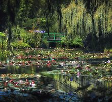 Monet's Lily Pond by Michael Carter
