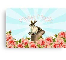 Magic Trick Rabbit Canvas Print
