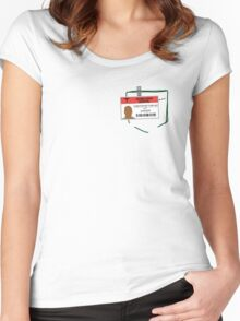 Turk's scrub Women's Fitted Scoop T-Shirt