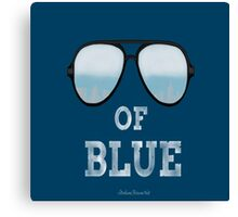 Shade's Of Blue Canvas Print