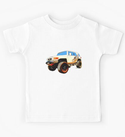 Toyota FJ Cruiser 4x4 Cartoon Panel from VivaChas Kids Tee