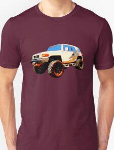 Toyota FJ Cruiser 4x4 Cartoon Panel from VivaChas T-Shirt