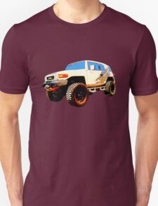 Toyota FJ Cruiser 4x4 Cartoon Panel from VivaChas T-Shirt