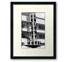 Miami Beach - Art Deco Framed Print