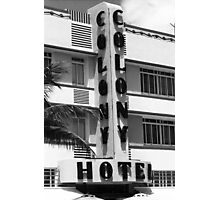 Miami Beach - Art Deco Photographic Print
