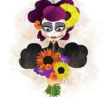 Past Sugar Skull by Gretchen Braun