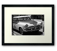 Miami Beach Classic Car Framed Print