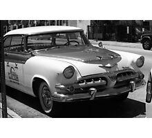 Miami Beach Classic Car Photographic Print