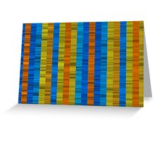 colorist waves Greeting Card