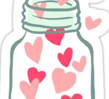 A Jar full of Love Sticker