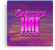 The Conversation Hat Logo Canvas Print