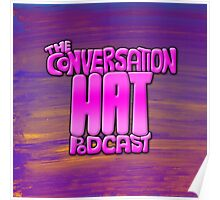 The Conversation Hat Logo Poster