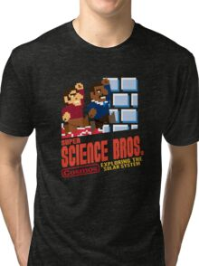 Super Science Bros Tri-blend T-Shirt