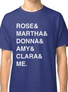 Doctor Who Companion Shirt Classic T-Shirt