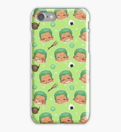 Zoro pattern iPhone Case/Skin