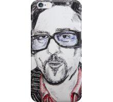 Tim Burton Portrait phone cover iPhone Case/Skin