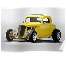 1933 Ford 'Soft Top' Coupe Poster