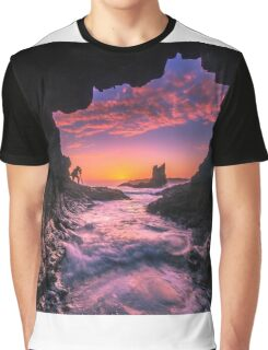Cathedral Rocks Cave Graphic T-Shirt