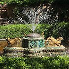 Chandor's Garden Fountain by Vivian Sturdivant
