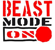Beast Mode Power On Design by Style-O-Mat