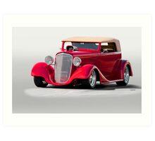 1934 Chevrolet Phaeton II Art Print