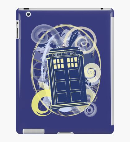 Doctor van Gogh. Who? iPad Case/Skin
