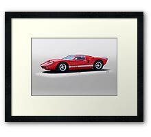 2008 Ford Production GT Framed Print