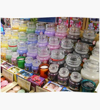 Aromatherapy Unchained - Yankee Candles Shop Display Poster
